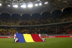 Romania-Uruguay vänskapsmatchMatch Royaltyfri Foto