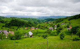 Romania village Stock Photos