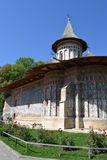 Romania Voronet monastery Royalty Free Stock Photo