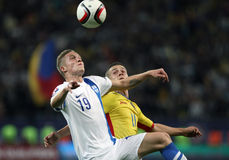 Romania vs Finland Royalty Free Stock Photo