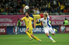 Romania vs Finland Royalty Free Stock Photos