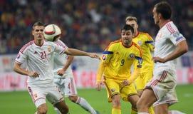Romania vs Hungary Royalty Free Stock Photo