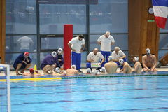 Romania water polo national team Royalty Free Stock Images