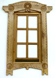 Romania wood window Royalty Free Stock Photography