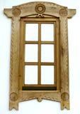 Romania wood window Royalty Free Stock Photography