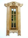 Romania wood window Royalty Free Stock Photo