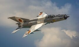 Free Romanian Air Force Mig21 Lancer Jet Plane Royalty Free Stock Photography - 196257967
