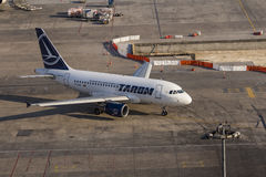 Romanian Airlines Tarom Airbus Stock Photography