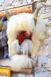 Romanian artifact. Image of romanian artifact - traditional mask for celebration Stock Images