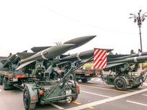 Romanian artillery Stock Image