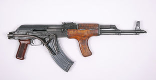 Romanian assault rifle (AK47) Royalty Free Stock Image