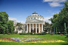 Romanian Athenaeum Royalty Free Stock Photography