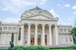 Romanian Athenaeum from Bucharest, Romania Stock Photography