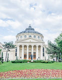 Romanian Athenaeum from Bucharest, Romania Royalty Free Stock Images