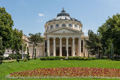 The Romanian Athenaeum Royalty Free Stock Photography
