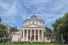 The Romanian Athenaeum Royalty Free Stock Images