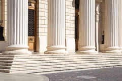 Romanian Athenaeum - detail Royalty Free Stock Photography