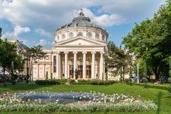 The Romanian Athenaeum George Enescu (Ateneul Roman) Royalty Free Stock Images