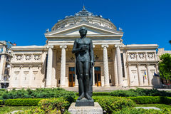The Romanian Atheneum,Bucharest, Romania Stock Photos