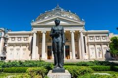 The Romanian Atheneum,Bucharest, Romania Stock Photos