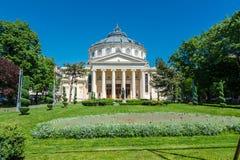 The Romanian Atheneum,Bucharest, Romania Royalty Free Stock Photos