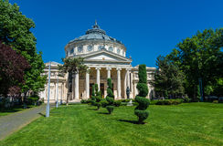The Romanian Atheneum,Bucharest, Romania Royalty Free Stock Photo