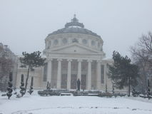 Romanian Atheneum Stock Images
