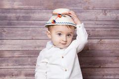 Romanian baby boy Royalty Free Stock Photography