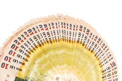 Romanian banknotes Stock Images