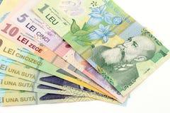 Romanian banknotes Stock Photos