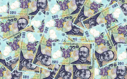 Romanian banknotes Stock Photos