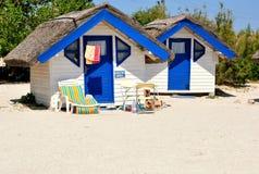 Romanian beach in Dobrogea Stock Photo