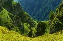 romanian berg Arkivbilder