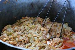 Romanian cabbage rolls - sarmale royalty free stock photo