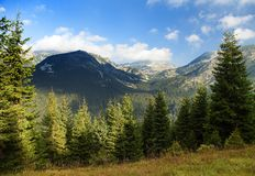 Romanian Carpathi, Retezat mountains Stock Photo