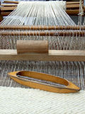 Romanian carpet loom Royalty Free Stock Photos
