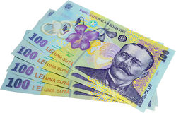 Romanian Cash Royalty Free Stock Photography