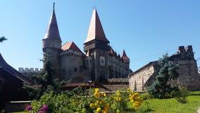 Romanian Castle in Hunedoara Stock Photos