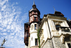Romanian castle Royalty Free Stock Photography