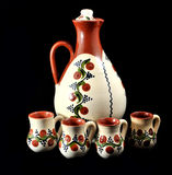 Romanian ceramic handmade Royalty Free Stock Photo