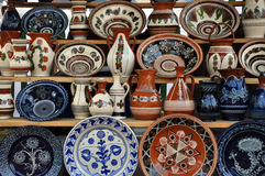 Romanian ceramic Stock Image