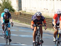 Romanian champions cycling tour Royalty Free Stock Images