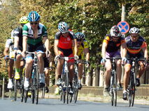 Romanian champions cycling tour Stock Images