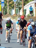 Romanian champions cycling tour Stock Photography