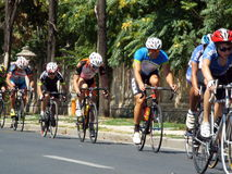 Romanian champions cycling tour Royalty Free Stock Photos