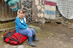 Romanian child Royalty Free Stock Images