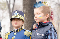 National day of Romania Stock Photography
