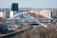 Romanian cityscape Stock Photography