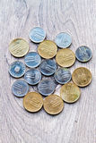 Romanian coins Royalty Free Stock Images