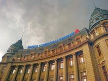 Romanian Commercial Bank Imagem de Stock Royalty Free